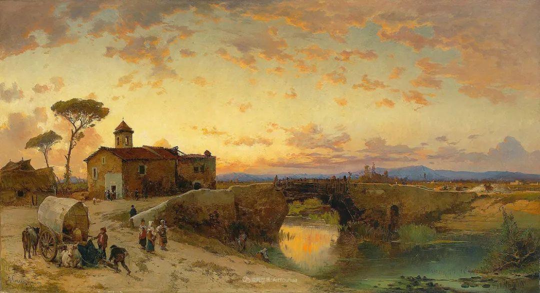 百年前的巨幅风景画,恢弘壮丽!插图3