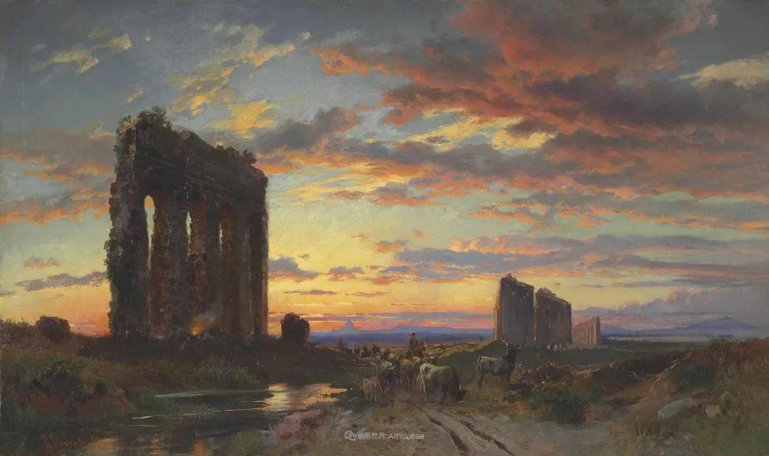 百年前的巨幅风景画,恢弘壮丽!插图11