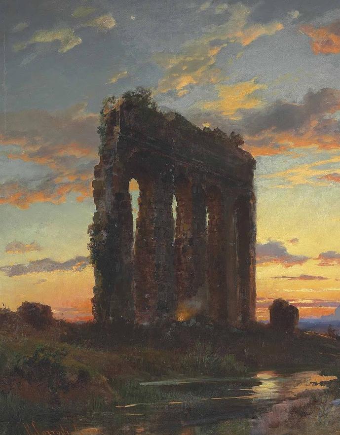 百年前的巨幅风景画,恢弘壮丽!插图13