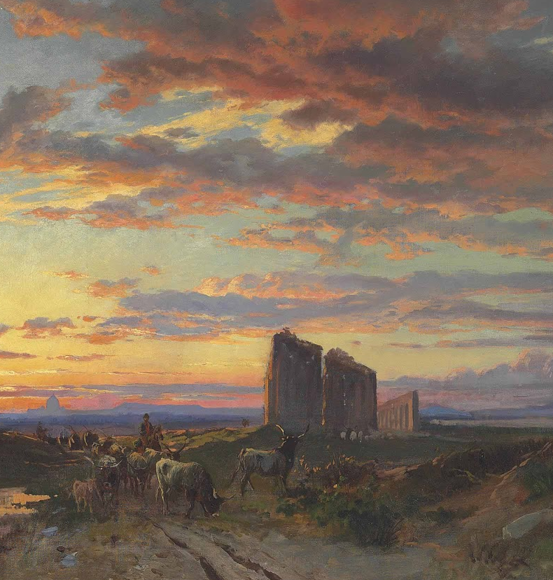 百年前的巨幅风景画,恢弘壮丽!插图15