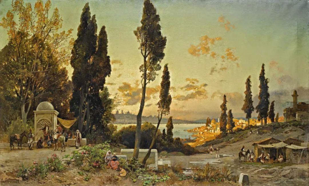 百年前的巨幅风景画,恢弘壮丽!插图17