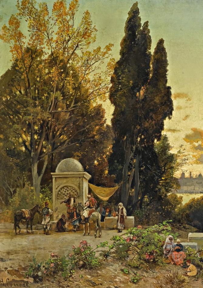 百年前的巨幅风景画,恢弘壮丽!插图19