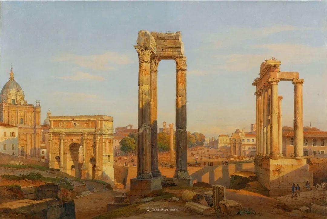 百年前的巨幅风景画,恢弘壮丽!插图27