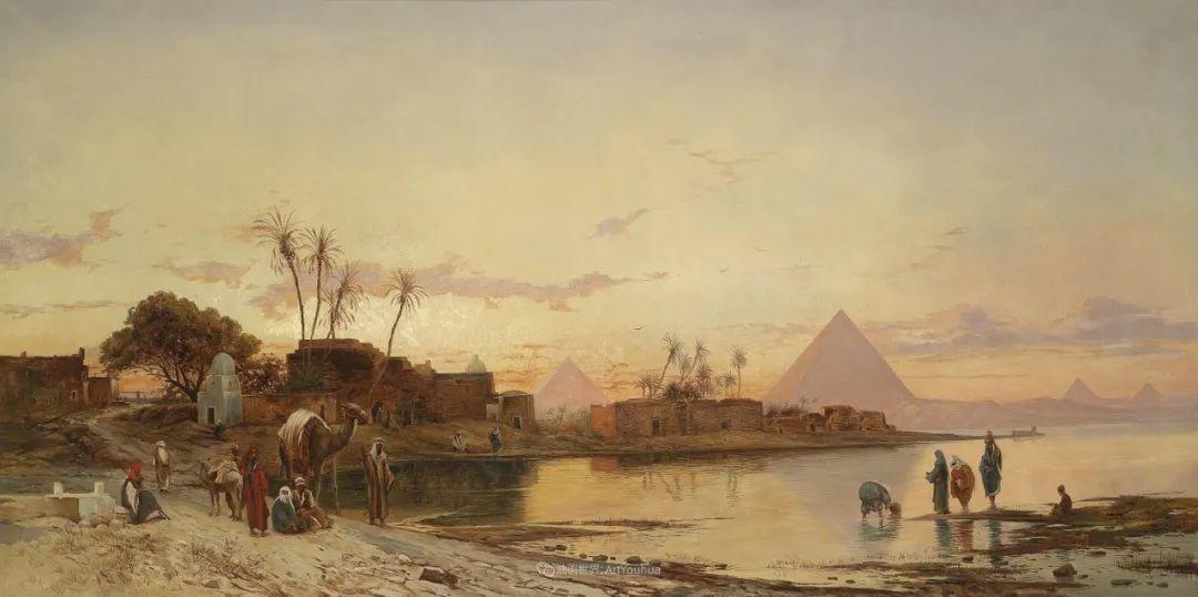 百年前的巨幅风景画,恢弘壮丽!插图33