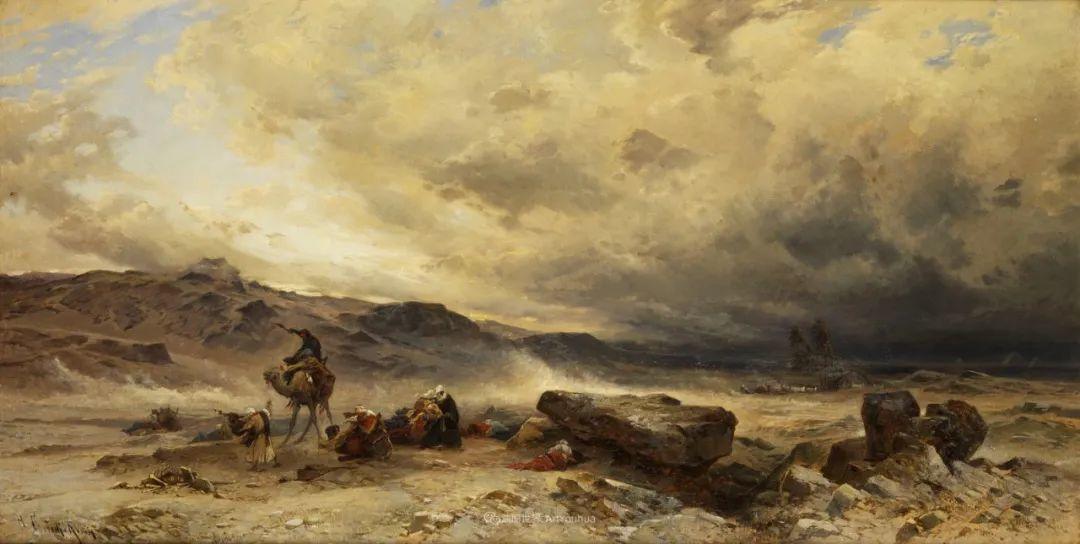 百年前的巨幅风景画,恢弘壮丽!插图39