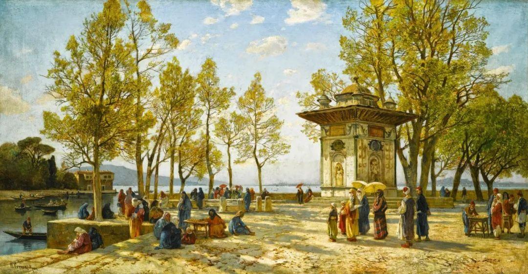 百年前的巨幅风景画,恢弘壮丽!插图49
