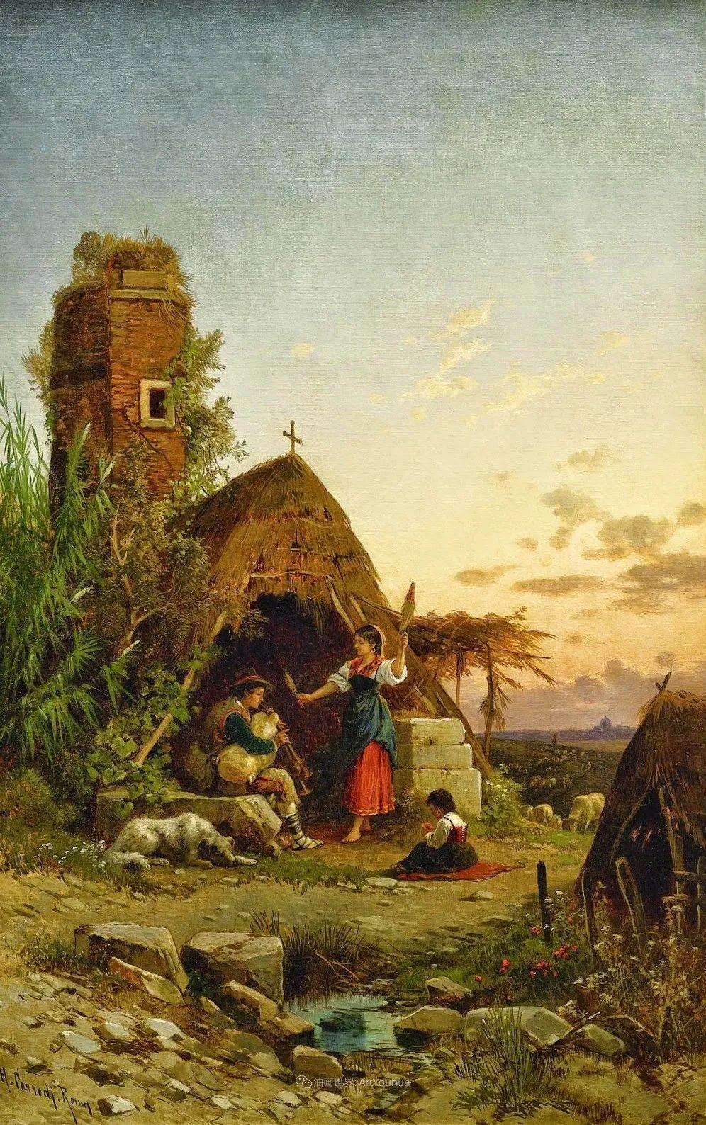 百年前的巨幅风景画,恢弘壮丽!插图65