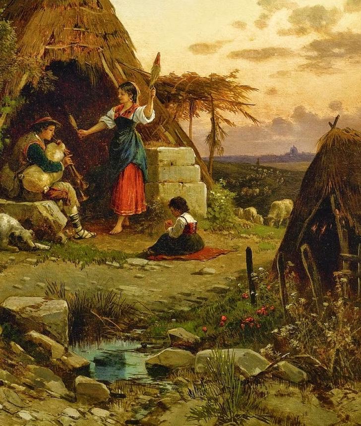 百年前的巨幅风景画,恢弘壮丽!插图69