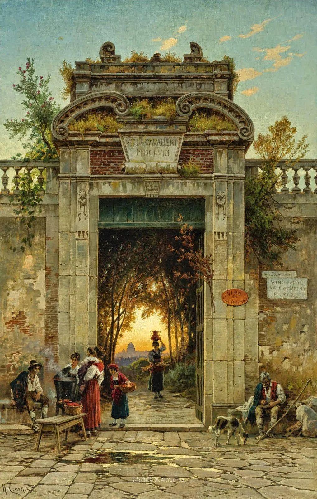 百年前的巨幅风景画,恢弘壮丽!插图81