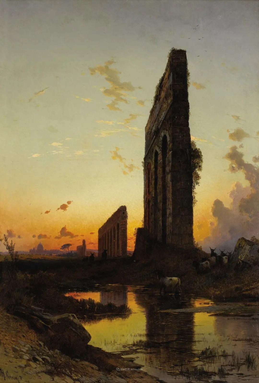 百年前的巨幅风景画,恢弘壮丽!插图91