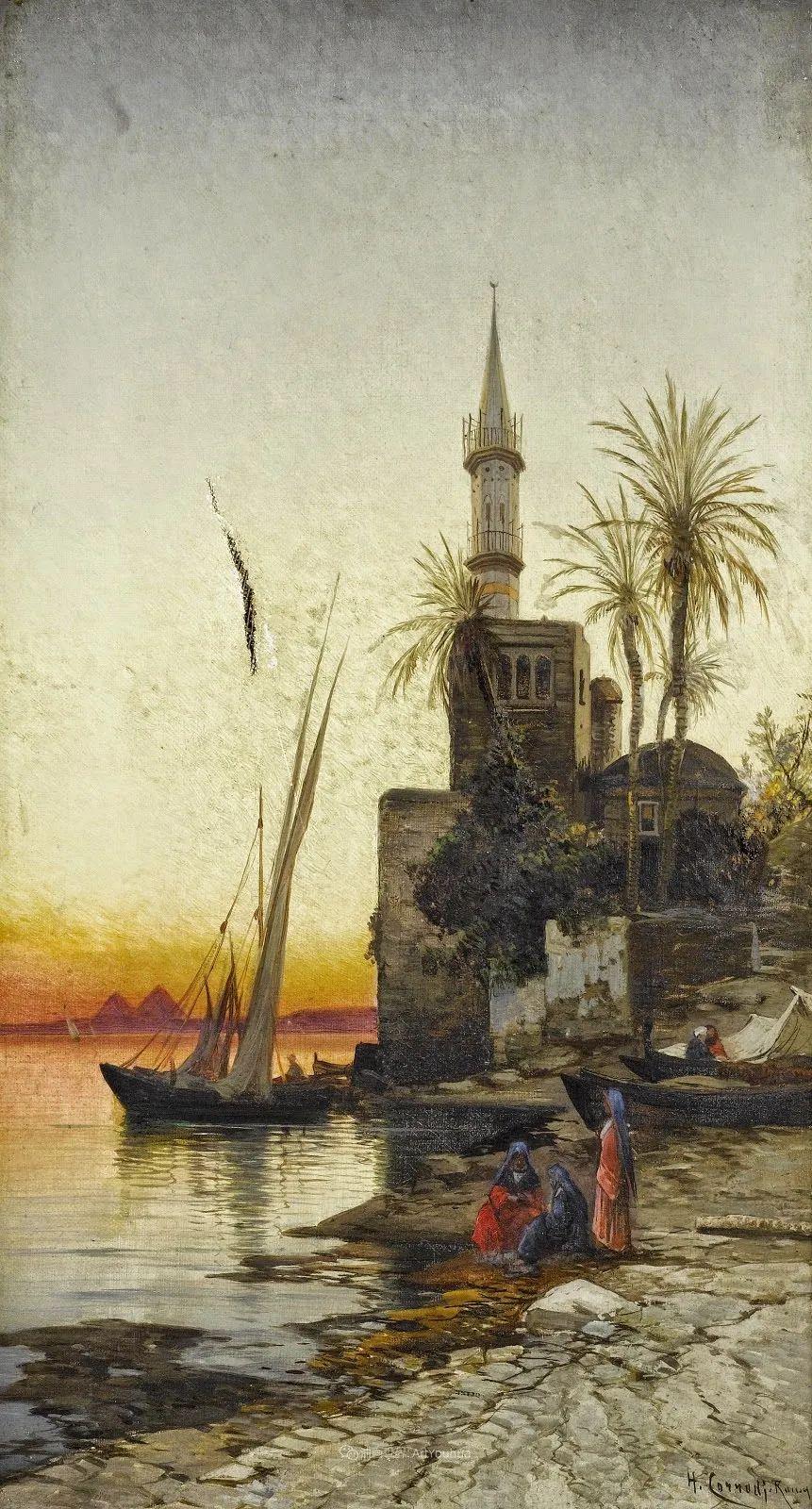 百年前的巨幅风景画,恢弘壮丽!插图99