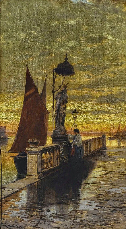 百年前的巨幅风景画,恢弘壮丽!插图103