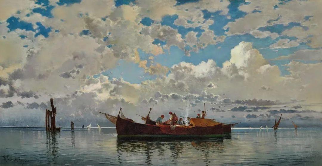 百年前的巨幅风景画,恢弘壮丽!插图115