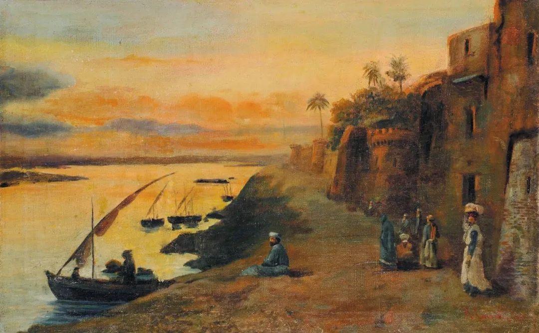 百年前的巨幅风景画,恢弘壮丽!插图117