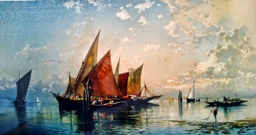 百年前的巨幅风景画,恢弘壮丽!插图123
