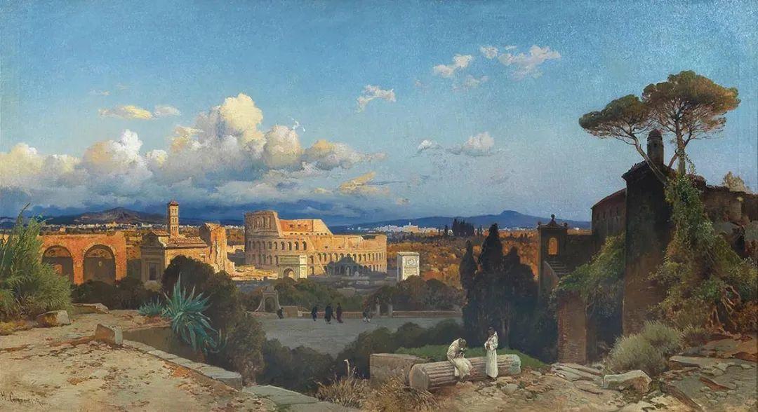 百年前的巨幅风景画,恢弘壮丽!插图139