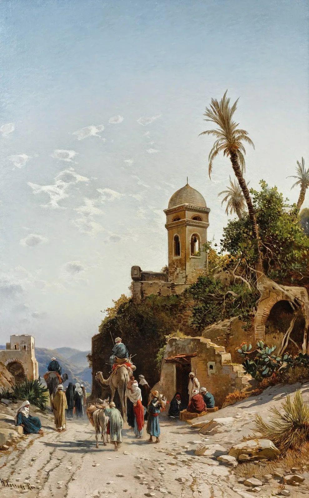 百年前的巨幅风景画,恢弘壮丽!插图147