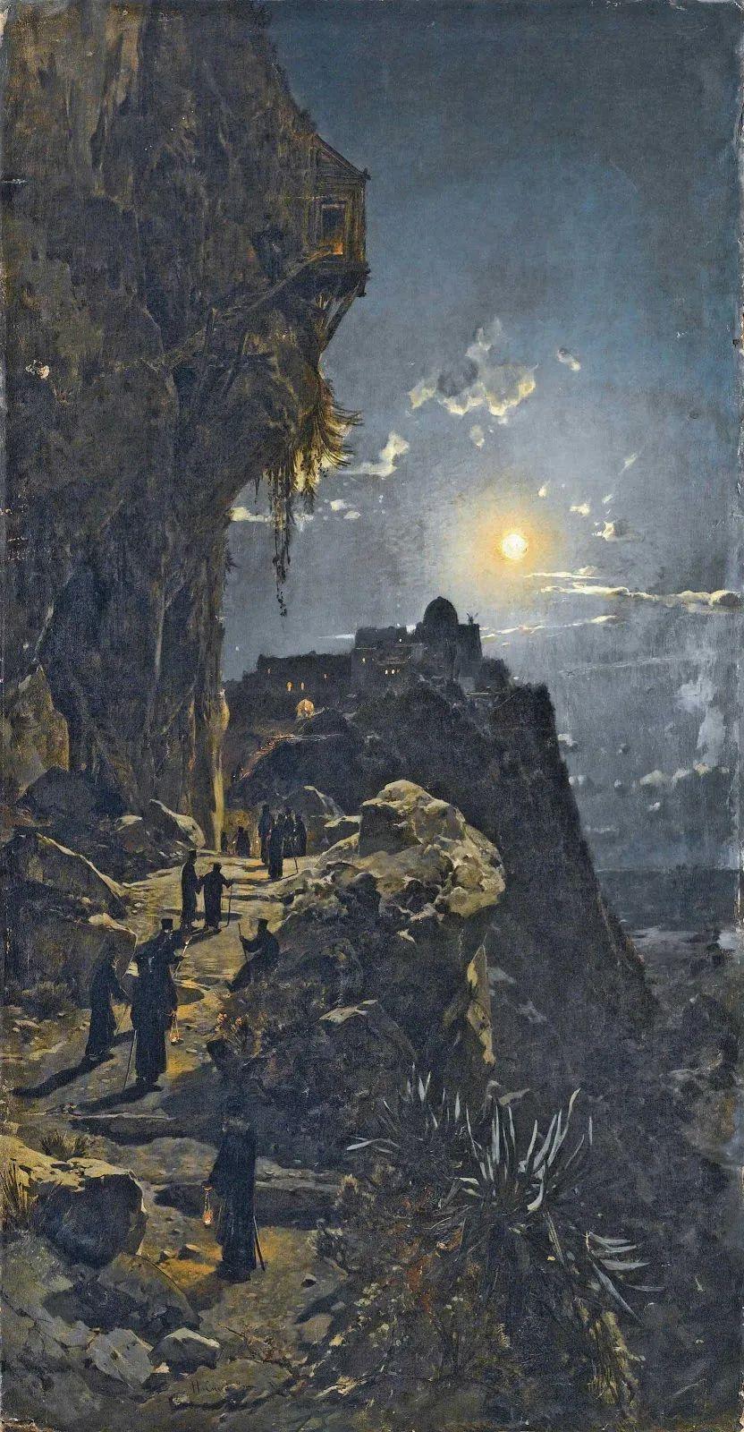 百年前的巨幅风景画,恢弘壮丽!插图153