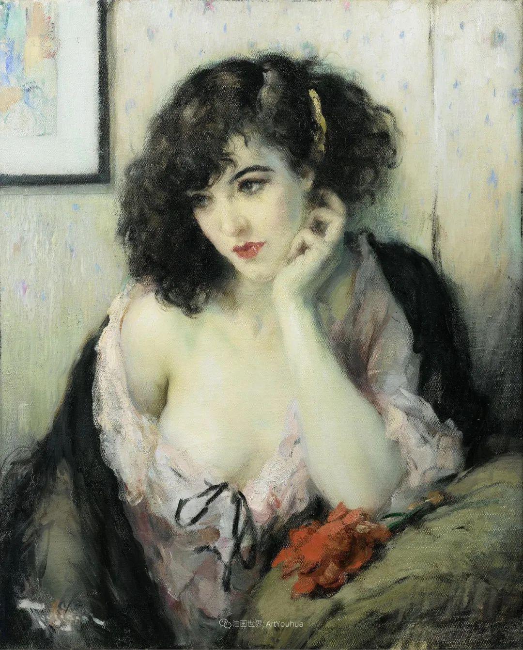 色调和谐,笔触细腻的女性美插图33