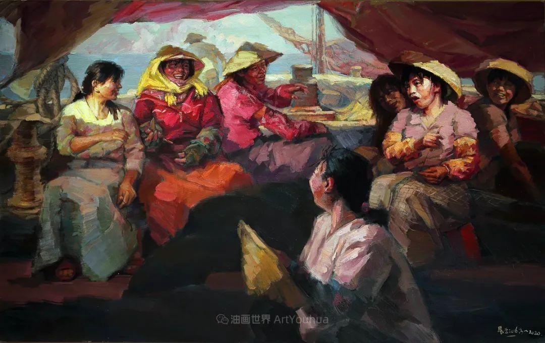 曹展云2020年油画新作欣赏插图55