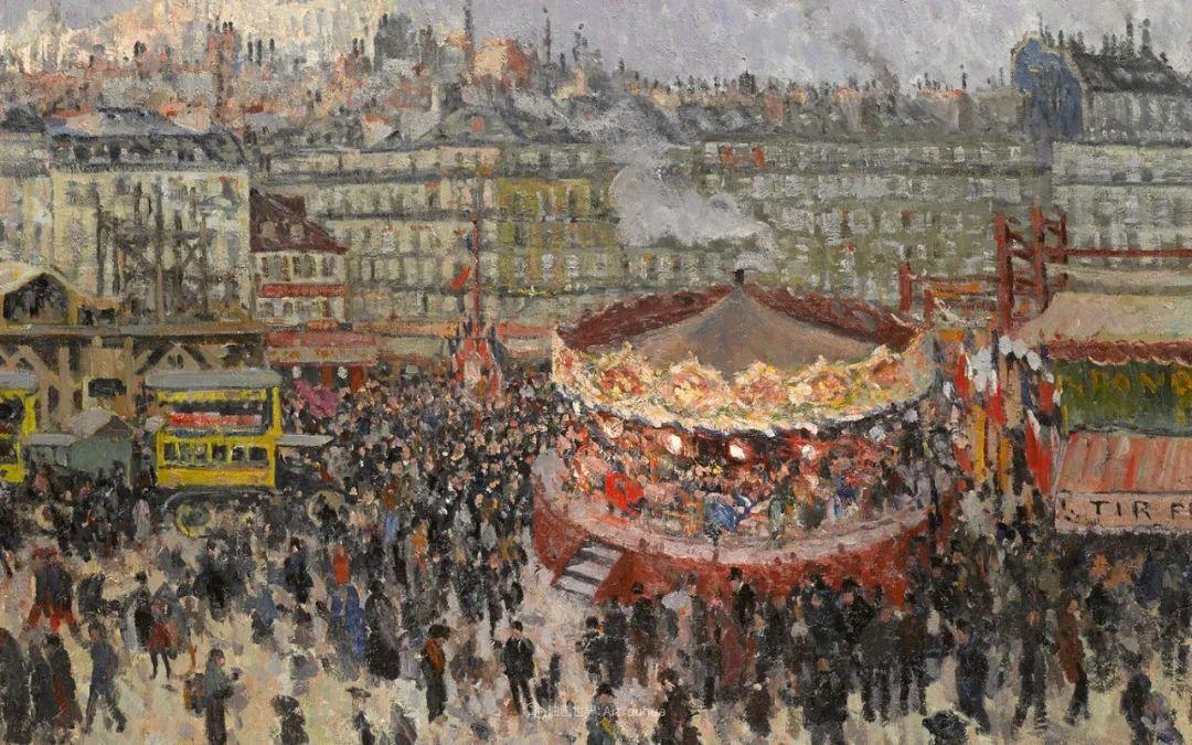 法国后印象派画家笔下的巴黎生活!插图27