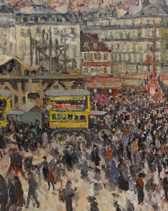 法国后印象派画家笔下的巴黎生活!插图29