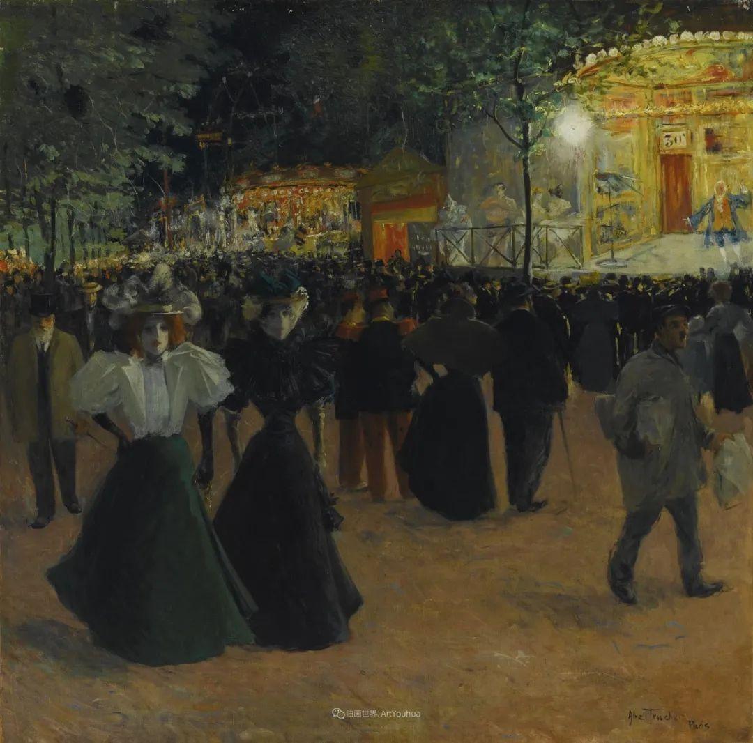 法国后印象派画家笔下的巴黎生活!插图59