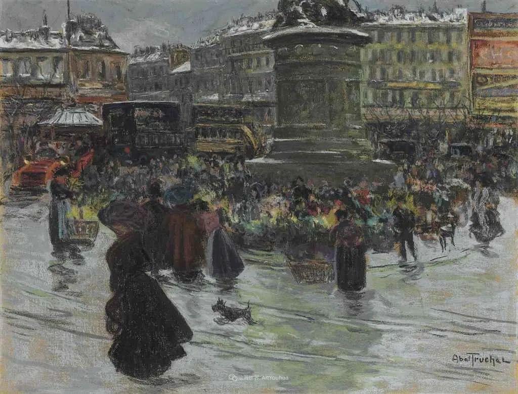 法国后印象派画家笔下的巴黎生活!插图63