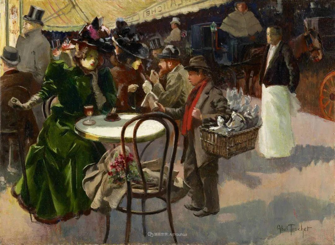 法国后印象派画家笔下的巴黎生活!插图67