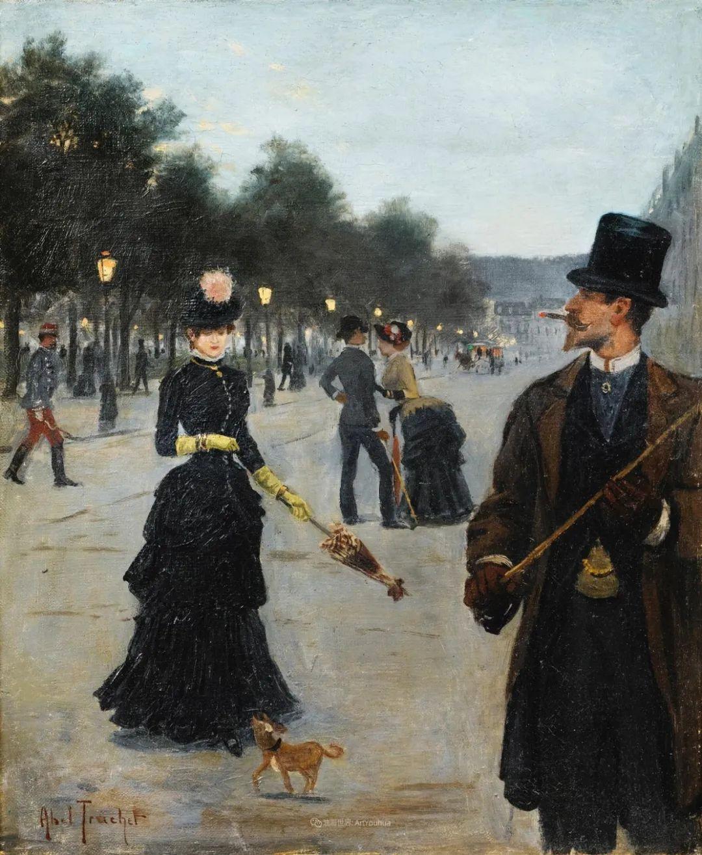 法国后印象派画家笔下的巴黎生活!插图75