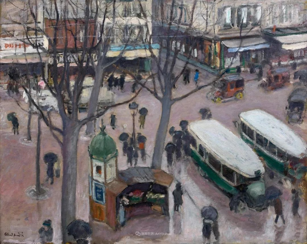 法国后印象派画家笔下的巴黎生活!插图89