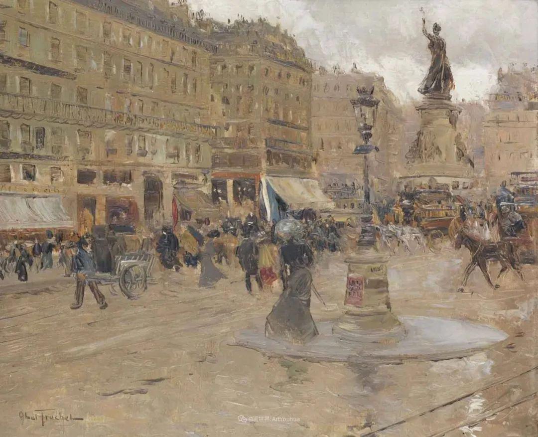 法国后印象派画家笔下的巴黎生活!插图99
