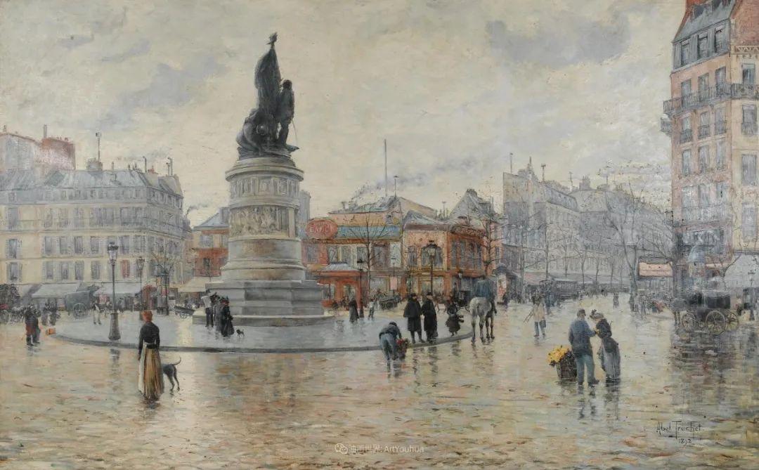 法国后印象派画家笔下的巴黎生活!插图103