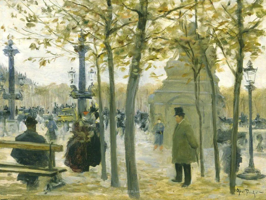 法国后印象派画家笔下的巴黎生活!插图107