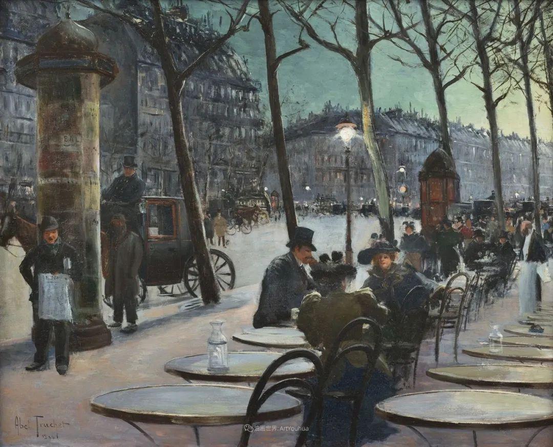 法国后印象派画家笔下的巴黎生活!插图109