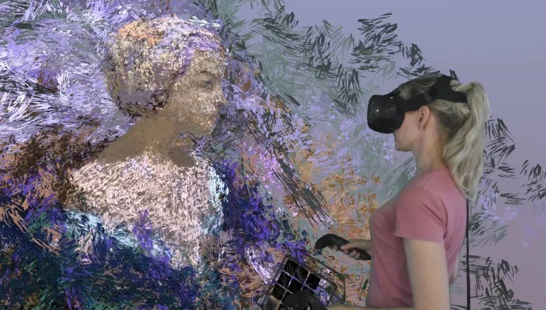 """她在空中随意""""乱画"""",就能震惊卢浮宫,登上TED?这种作画方式也太炫酷了吧!插图27"""