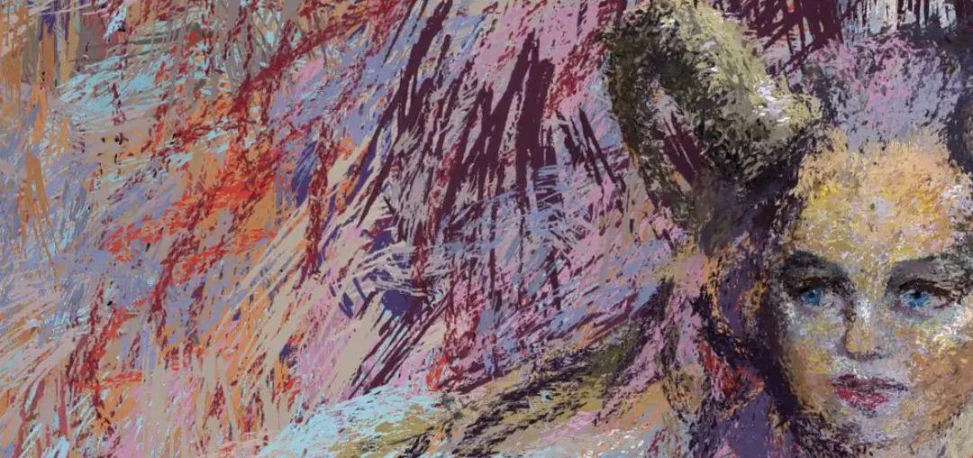 """她在空中随意""""乱画"""",就能震惊卢浮宫,登上TED?这种作画方式也太炫酷了吧!插图61"""