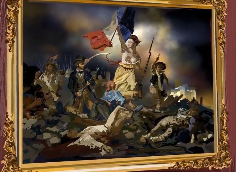 """她在空中随意""""乱画"""",就能震惊卢浮宫,登上TED?这种作画方式也太炫酷了吧!插图67"""