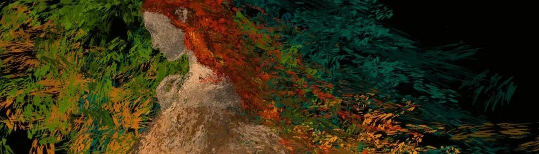 """她在空中随意""""乱画"""",就能震惊卢浮宫,登上TED?这种作画方式也太炫酷了吧!插图83"""