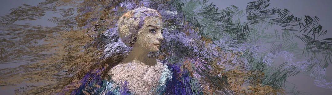 """她在空中随意""""乱画"""",就能震惊卢浮宫,登上TED?这种作画方式也太炫酷了吧!插图87"""