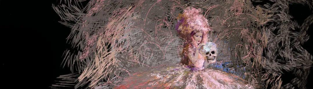 """她在空中随意""""乱画"""",就能震惊卢浮宫,登上TED?这种作画方式也太炫酷了吧!插图95"""