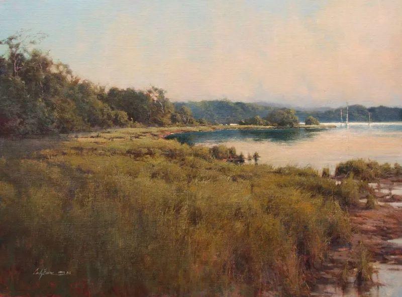 壮丽的山脉和海岸线景色,美国女画家辛迪·拜伦插图41
