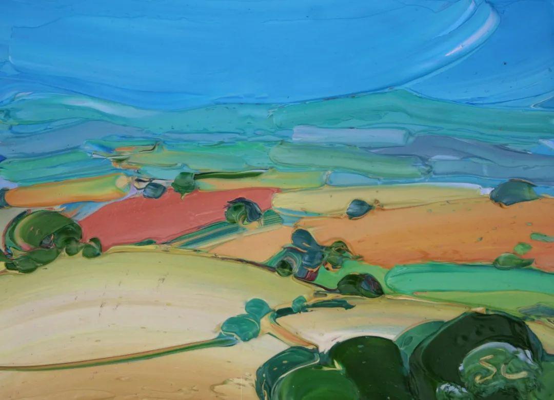 捕捉风景中的光线,富有表现力的厚涂画法!插图19