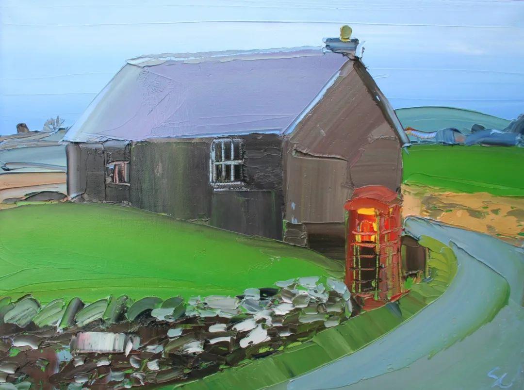 捕捉风景中的光线,富有表现力的厚涂画法!插图36