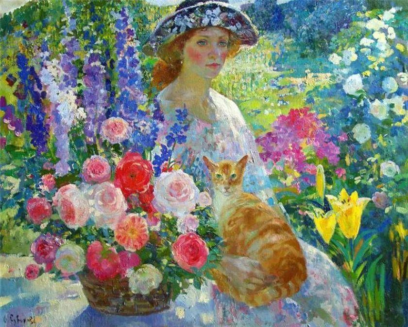 俄罗斯当代著名女画家奥尔加·苏洛娃插图1