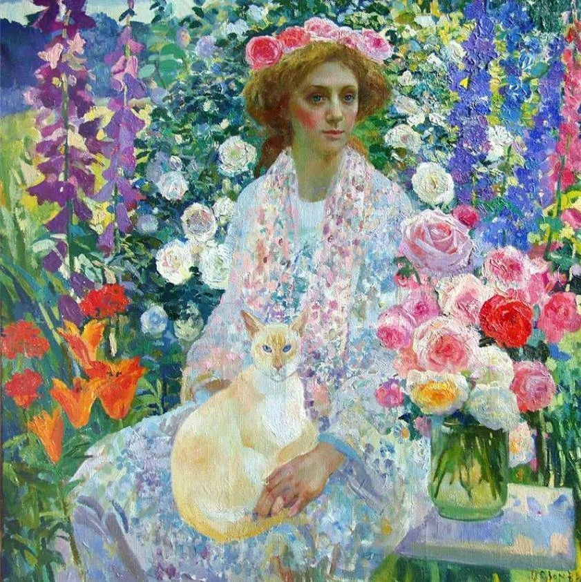 俄罗斯当代著名女画家奥尔加·苏洛娃插图3