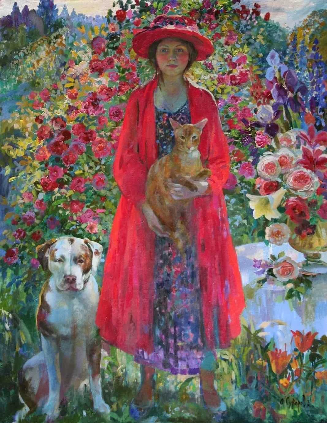 俄罗斯当代著名女画家奥尔加·苏洛娃插图5