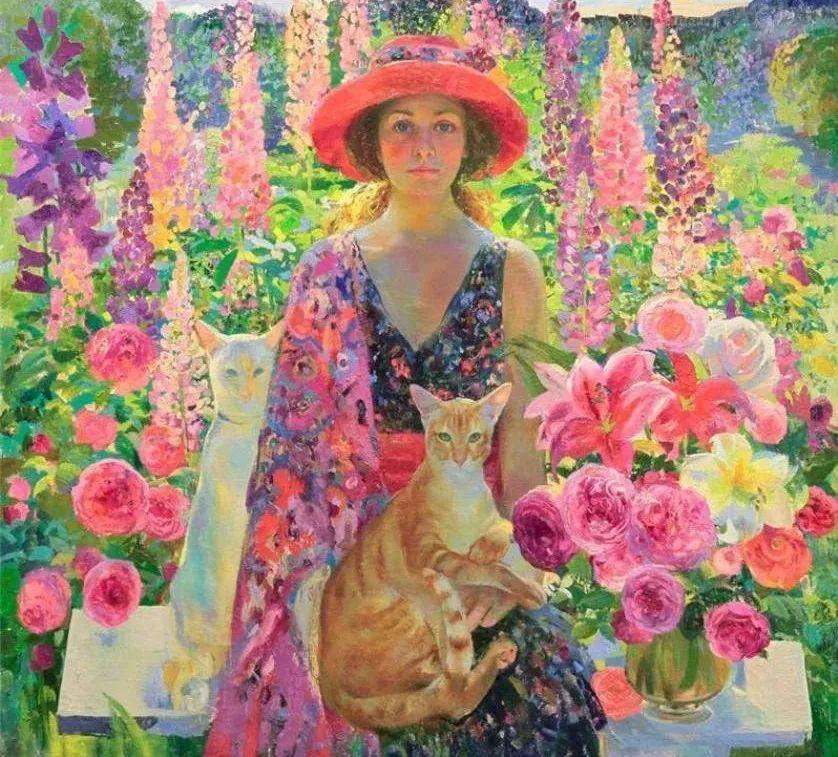 俄罗斯当代著名女画家奥尔加·苏洛娃插图7