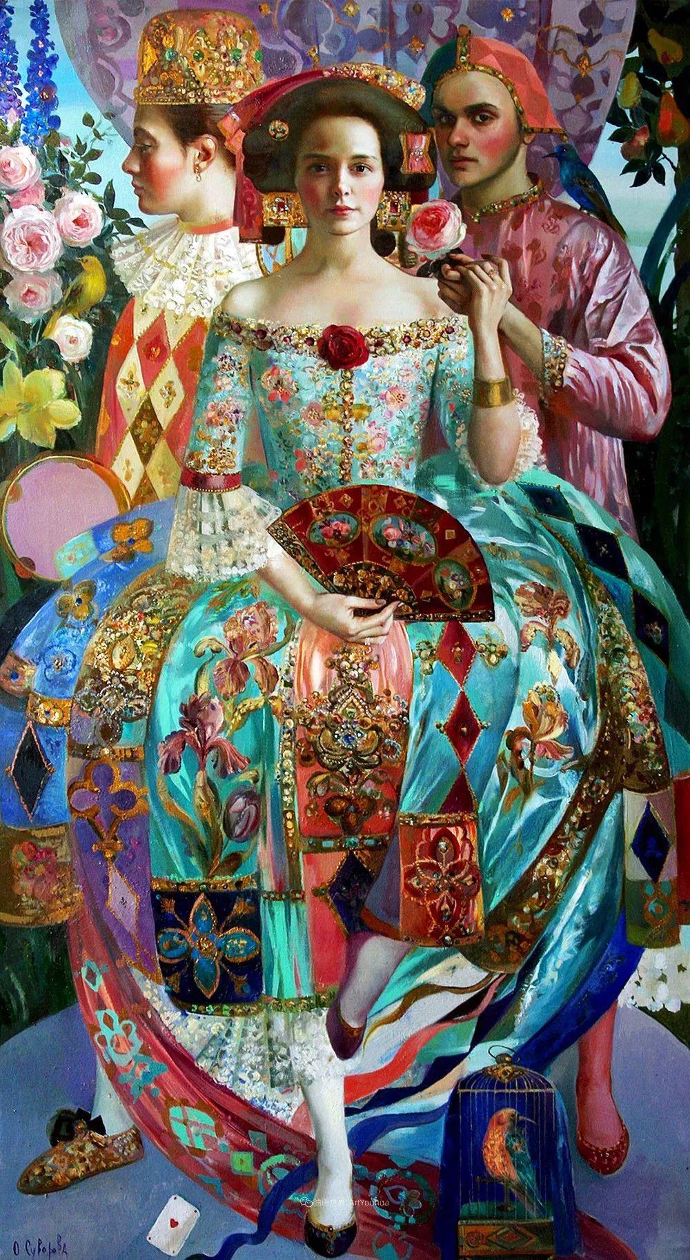俄罗斯当代著名女画家奥尔加·苏洛娃插图9