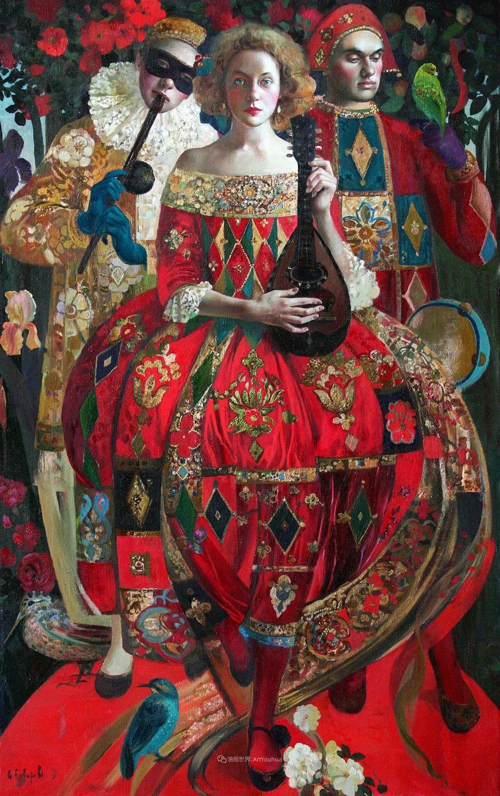 俄罗斯当代著名女画家奥尔加·苏洛娃插图11